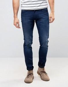 Выбеленные зауженные джинсы Lee Luke - Синий