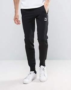 Суженные книзу черные спортивные штаны Puma эксклюзивно для ASOS - Черный