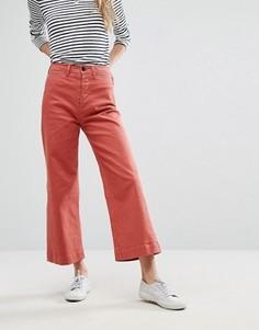 Укороченные джинсы с широкими штанинами M.i.h Jeans Caron - Красный