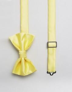 Желтый галстук-бабочка ASOS WEDDING - Желтый
