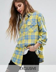 Рубашка в клетку Reclaimed Vintage - Желтый