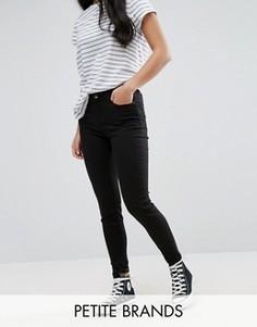 Супероблегающие джинсы New Look Petite - Черный