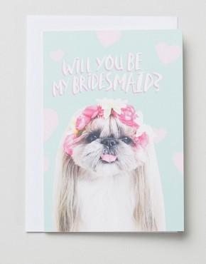 Открытка для подружки невесты Jolly Awesome - Мульти