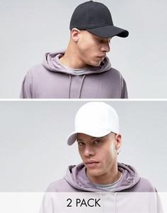 2 кепки (черная/белая) Gregorys - Мульти