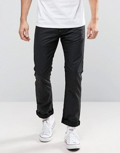 Узкие вощеные джинсы Edwin EB-71 - Черный