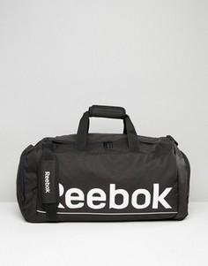 Черная сумка средних размеров Reebok S23037 - Черный