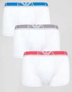 3 пары боксеров-брифов Emporio Armani - Белый