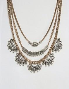 Броское ожерелье ALDO - Золотой