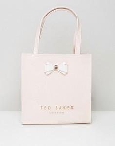 Маленькая сумка с бантиком Ted Baker - Розовый