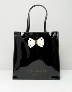Большая сумка с бантиком Ted Baker - Черный
