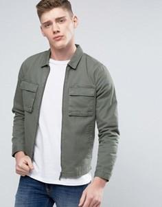 Куртка в стиле милитари Native Youth - Зеленый