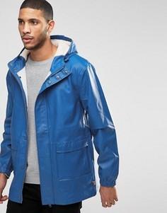 Куртка-дождевик с капюшоном на подкладке борг Bellfield - Синий
