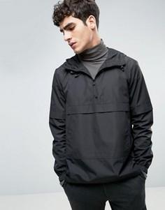 Куртка через голову с молниями по бокам Bellfield - Черный
