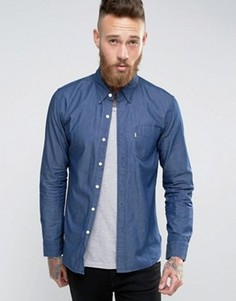 Синяя рубашка с карманом Levis Sunset - Синий Levis®