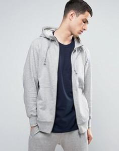 Серое худи на молнии adidas Originals X By O BQ3090 - Серый