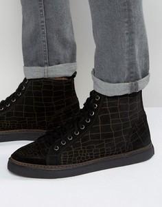 Высокие кроссовки Rule London - Черный