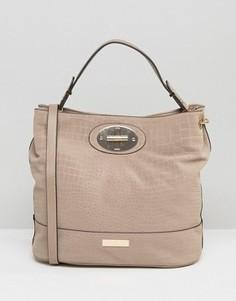 Свободная сумка с тиснением Carvela Nadia - Бежевый
