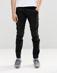 Темные джинсы слим G Star 5620 3D - Синий