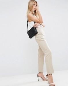 Приталенные брюки ASOS Premium - Stone