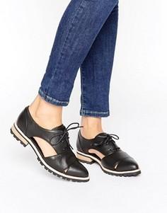 Туфли на плоской подошве со шнуровкой ALDO - Черный