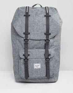 Серый рюкзак объемом 25 литров Herschel Supply Co Little America - Серый