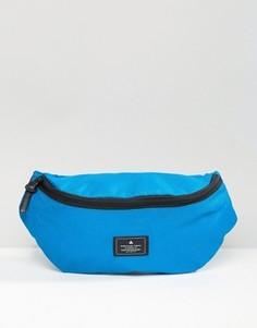 Синяя сумка-кошелек на пояс с нашивкой ASOS - Синий