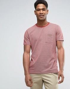 Красная футболка с карманом Abercrombie & Fitch - Красный