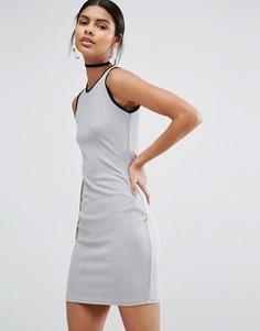 Платье мини Daisy Street - Серый