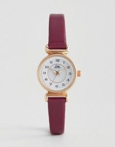 Часы с кожаным ремешком ягодного цвета Limit 6202.37 - Фиолетовый