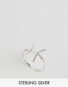 Серебряное кольцо с зодиакальной отделкой Рыбы Rock N Rose - Серебряный