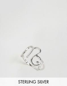 Серебряное кольцо с зодиакальной отделкой Скорпион Rock N Rose - Серебряный