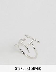 Серебряное кольцо со знаком зодиака Близнецы Rock N Rose - Серебряный