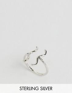 Серебряное кольцо со знаком зодиака Водолей Rock N Rose - Серебряный