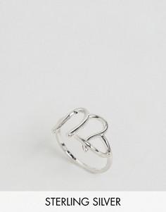 Серебряное кольцо с зодиакальной отделкой Дева Rock N Rose - Серебряный
