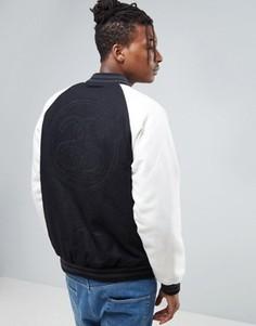 Университетская куртка Stussy - Черный