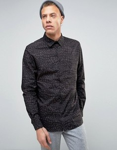 Рубашка Weekday Leonard - Черный