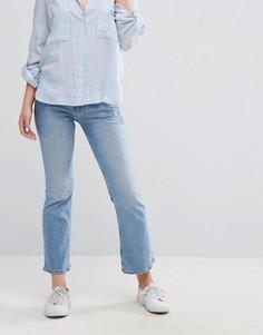 Укороченные расклешенные джинсы Hilfiger Denim - Синий