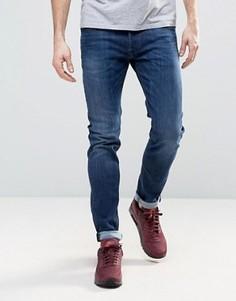 Темные джинсы скинни Diesel Sleenker - Темно-синий