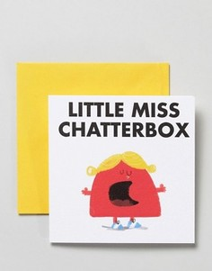 Открытка Ohh Deer Little Miss Chatterbox - Мульти