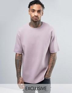 Розовато-лиловая футболка Mennace - Фиолетовый