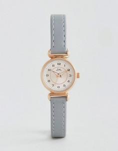 Часы с серым кожаным ремешком Limit - Серый
