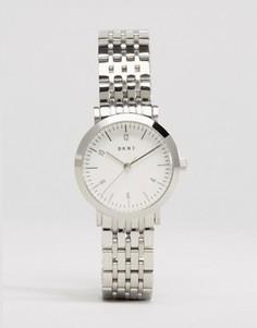 Серебристые наручные часы DKNY Minetta NY2509 - Серебряный