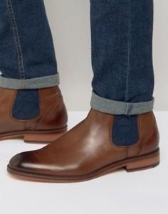 Кожаные ботинки челси Ted Baker Camroon - Коричневый