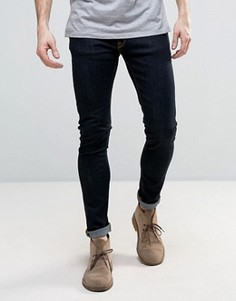 Супероблегающие джинсы Nudie Skinny Lin - Темно-синий