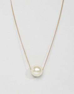 Длинное ожерелье Pieces - Золотой
