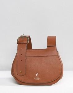 Седловидная сумка с пряжкой Fiorelli Georgia - Коричневый