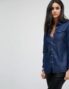 Джинсовая рубашка G-Star Tacoma - Синий