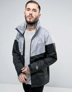Черная 2-цветная непромокаемая куртка с капюшоном Columbia Inner Limits - Черный