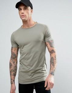 Обтягивающая футболка Liquor & Poker - Зеленый