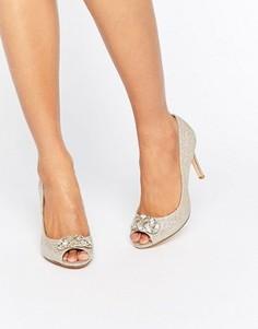 Декорированные туфли-лодочки Dune Bridal Dolley - Золотой